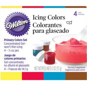 Основные цвета Набор красителей для Айсинга по 14г Wilton ( Вилтон )