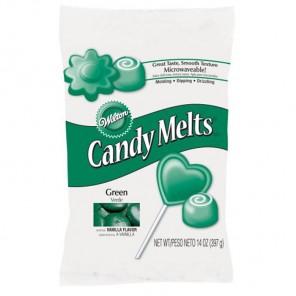 Темно-зеленый цвет Тающая конфетка Candy Melts Wilton ( Вилтон )