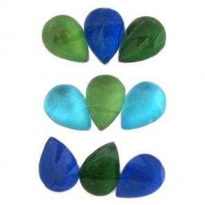 Капли сине-зеленые 213 Стразы набор Decopatch