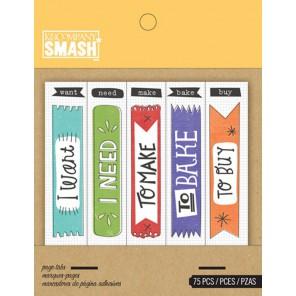 Флажки Smash ( Смэш ) для скрапбукинга K&Company