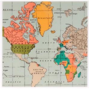Карта All Aboard Штамп резиновый для скрапбукинга, кардмейкинга Docrafts