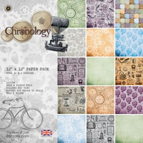 Chronology Набор бумаги 30x30 для скрапбукинга, кардмейкинга Docrafts