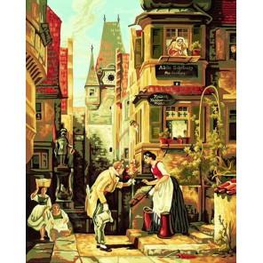 Вечный жених ( репродукция Карл Шпицвег) Раскраска по номерам акриловыми красками Schipper (Германия)