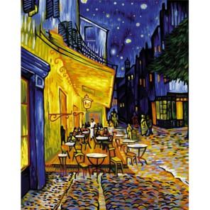 Ночное кафе ( репродукция Ван Гог) Раскраска по номерам акриловыми красками Schipper (Германия)