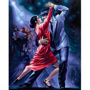 Танго в ночи Раскраска по номерам акриловыми красками Schipper (Германия)