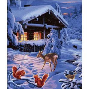 Зимняя сказка Раскраска по номерам Schipper (Германия)