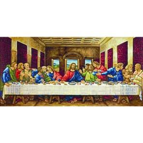 Тайная вечеря ( репродукция Леонардо да Винчи) Раскраска по номерам Schipper (Германия)