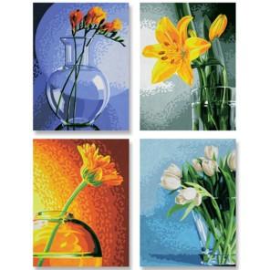 Цветы Раскраски по номерам Schipper (Германия)