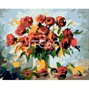 Ностальгия Раскраска по номерам акриловыми красками на холсте Iteso