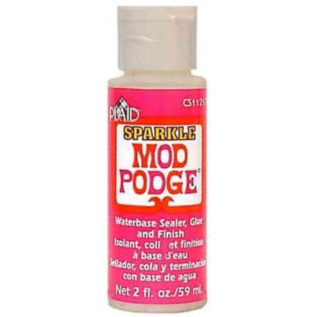 Сверкающий Клей для декупажа 11217 Mod Podge Plaid