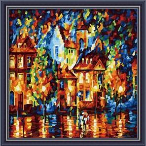 Амстердам Раскраска по номерам на холсте Hobbart