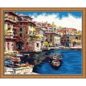 Портофино Раскраска по номерам на холсте Hobbart