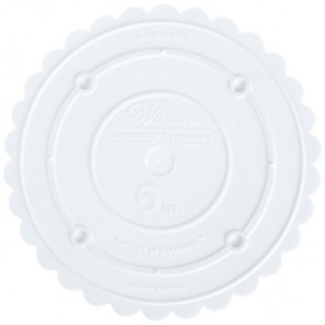 15см Тарелка пластиковая круглая для торта Wilton ( Вилтон )