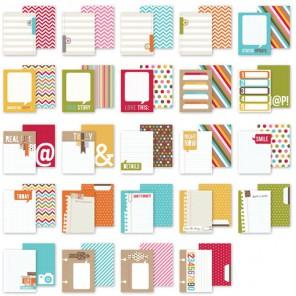Snappy Thoughts Набор карточек-тэгов для смэшбука Snap Simple Stories