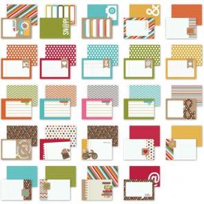Snappy Thoughts 10х15см Набор карточек-тэгов для смэшбука Snap Simple Stories