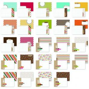 Snappy Days 10х15см Набор карточек-тэгов для смэшбука Snap Simple Stories