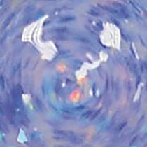 Голубой глиттер 940